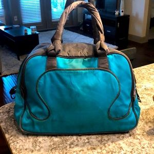 Lululemon Green/Teal Duffle Gym Bag